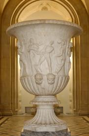 Vase Borghèse au musée du Louvre Paris