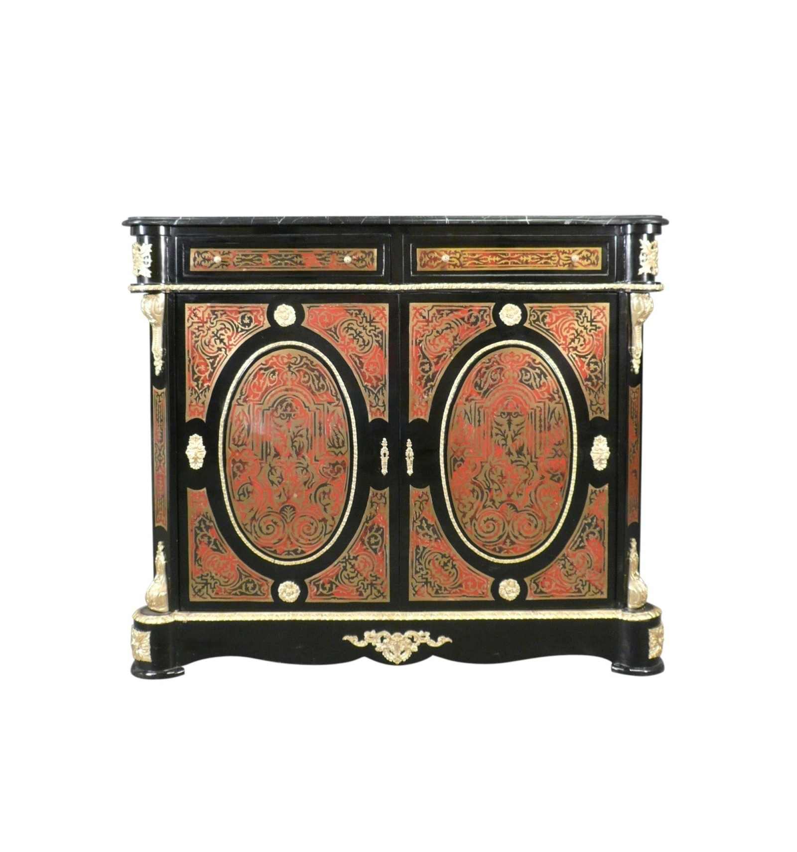 Buffet Empire marqueterie boulle