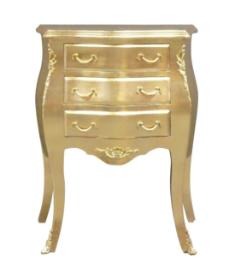 Commode baroque dorée