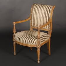fauteuil directoire ancien