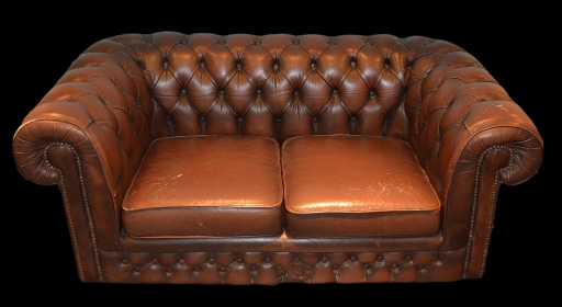 Canapé chesterfield cuir