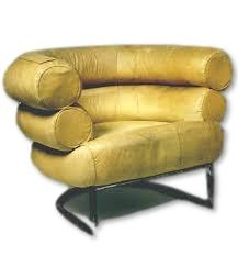 fauteuil Bibendum de 1925 par Eileen Gray