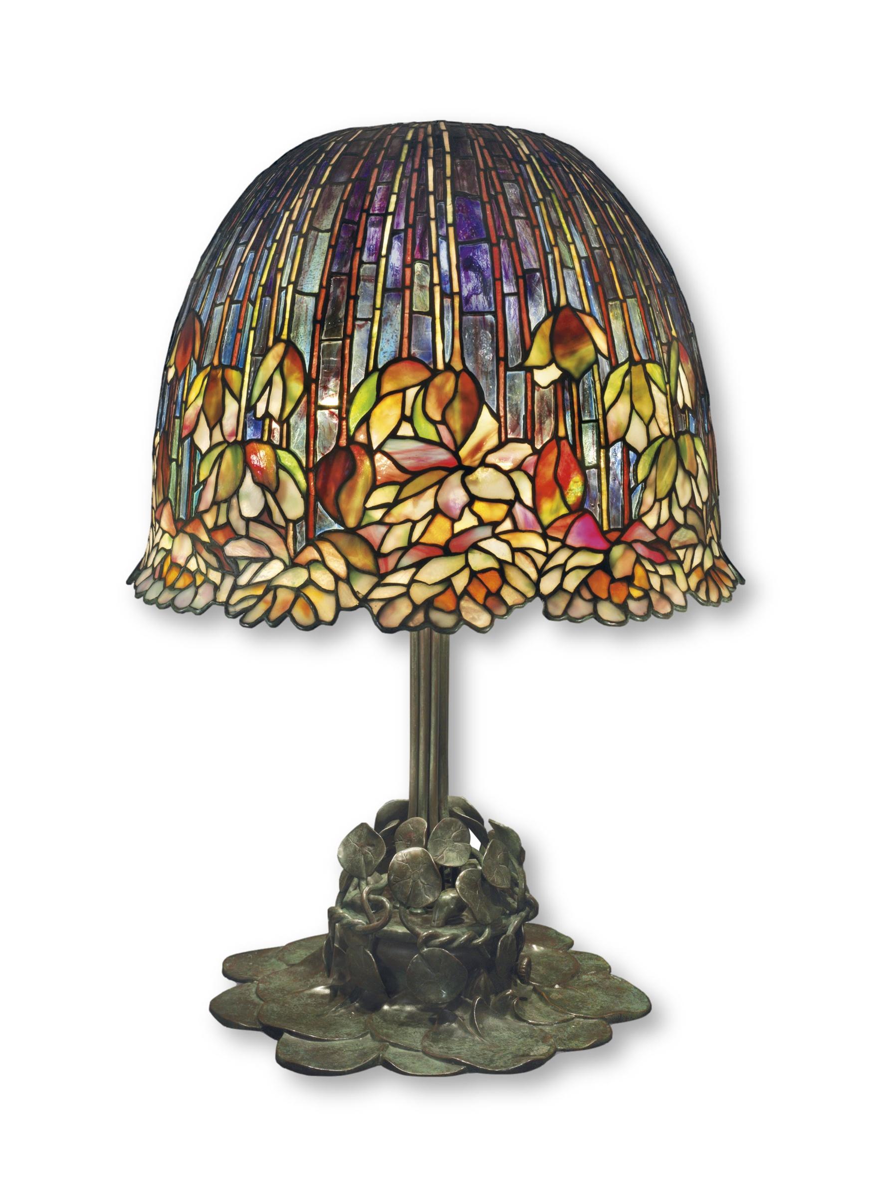 Lampe Tiffany Lily Pond