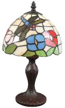 lampe de chevet Tiffany fond blanc