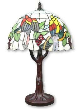 Tiffany lampe Vogel