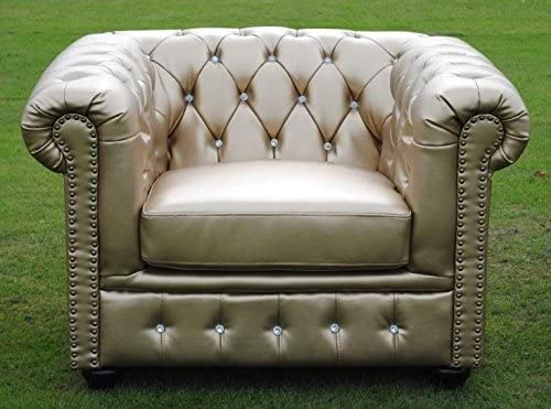 Fauteuil Chesterfield en Bycast