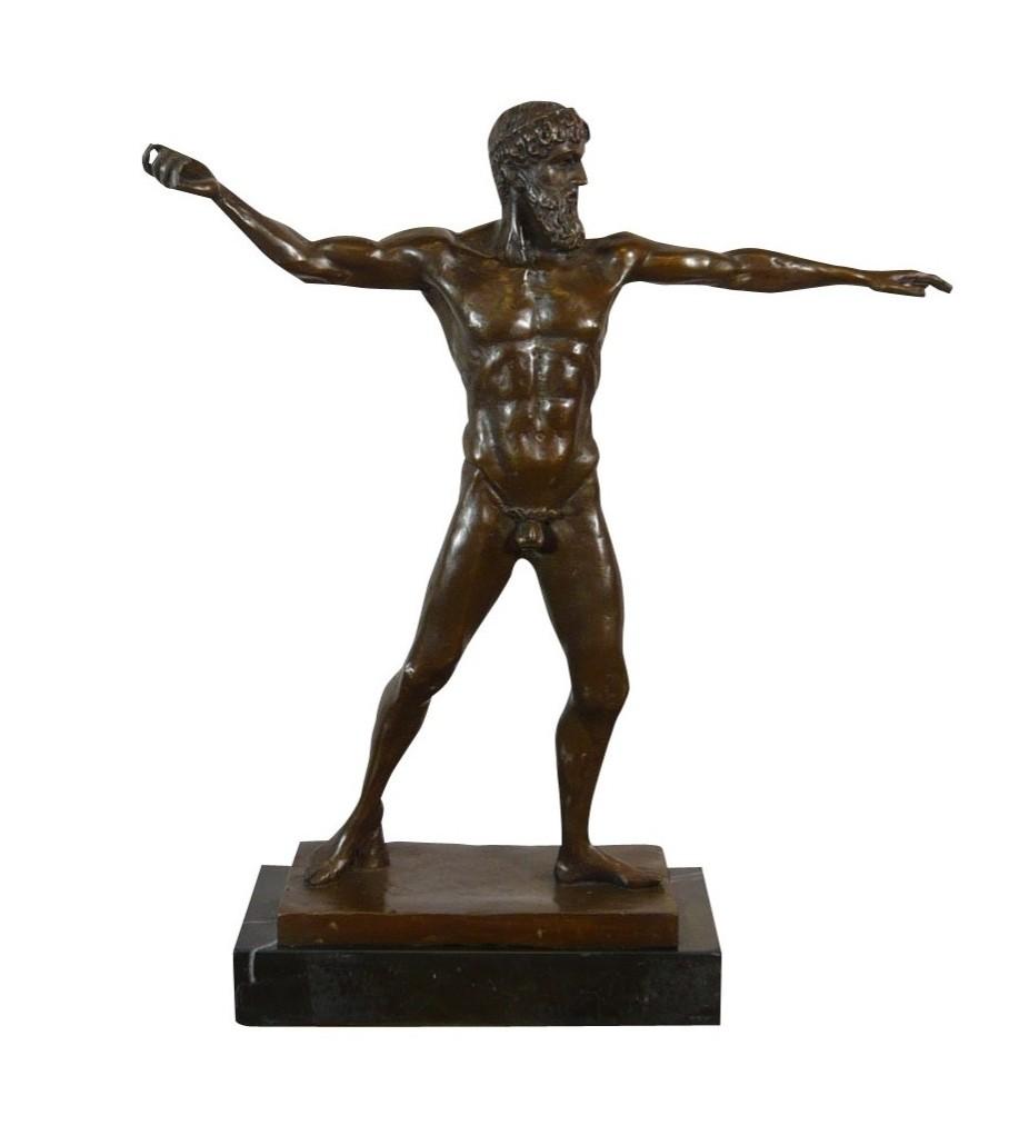 Statue grecque bronze Artémision