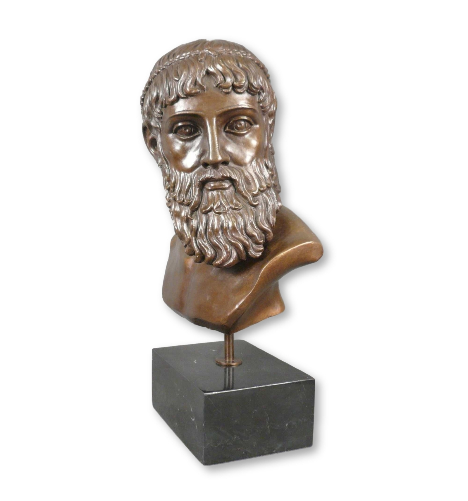 Statue dieu grecque Zeus