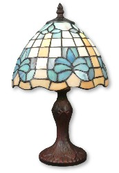 Vintage lily flower Tiffany lamp