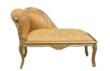 Méridienne baroque doré