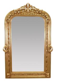Grand miroir baroque