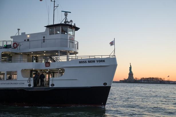 Le ferry pour visiter la statue de la liberté