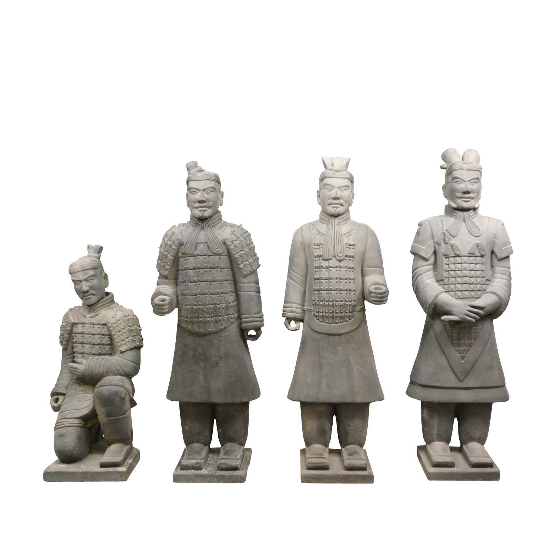 Statues des guerriers Xian en terre cuite