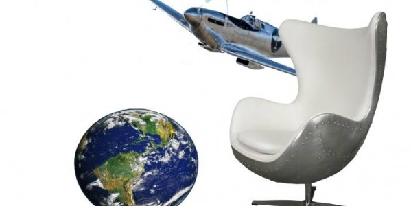 The aviator armchair for a house of the world