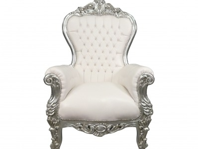 The old baroque armchair