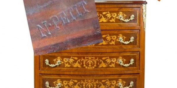 The Louis XVI dresser stamped