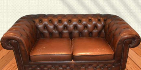 Le fauteuil Chesterfield d'occasion