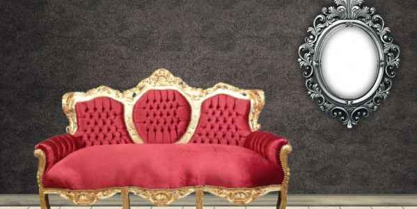 Baroque living room furniture