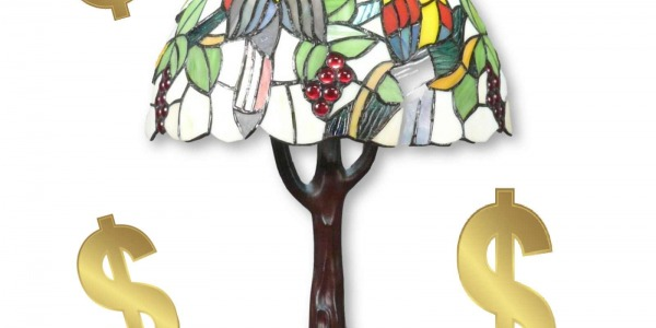 The world's most expensive Tiffany lamp