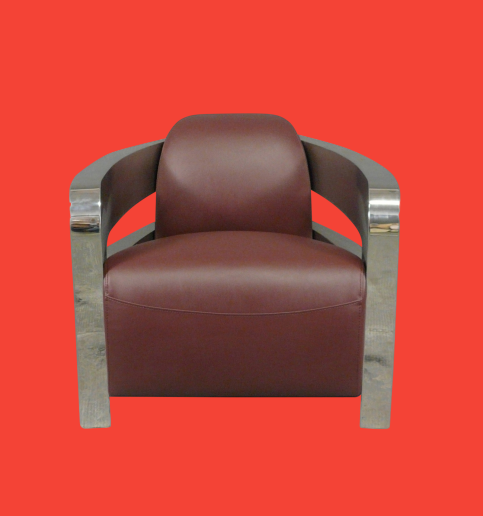The red aviator armchair